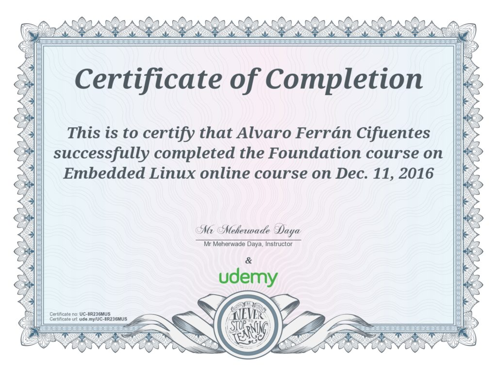 Foundation course on Embedded Linux