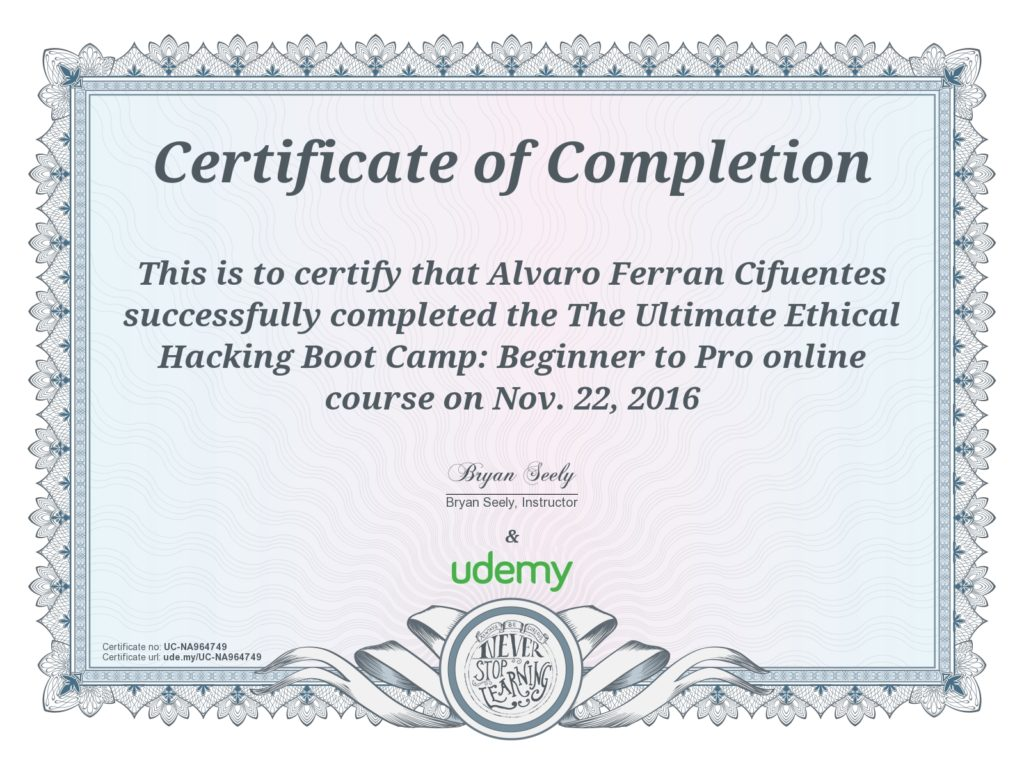 The Ultimate Ethical Hacking BootCamp