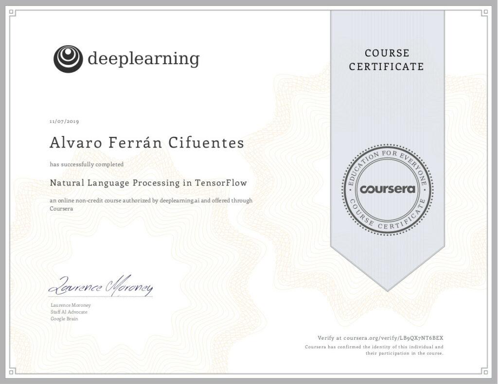 Natural Language Processing in TensorFlow